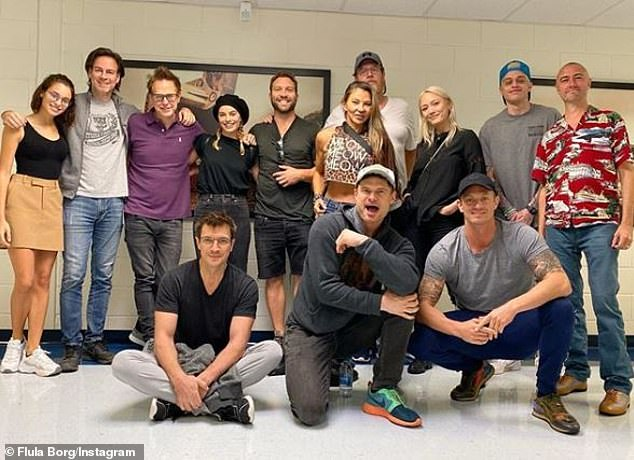 'The Suicide Squad Class Foto': The Suicide Squad welcomes back Margot Robbie, Joel Kinnaman, and Jai Courtney and introduces Pete Davidson, Nathan Fillion, Taika Waititi, Storm Reid, Michael Rooker, and Peter Capaldi (pictured September 28)