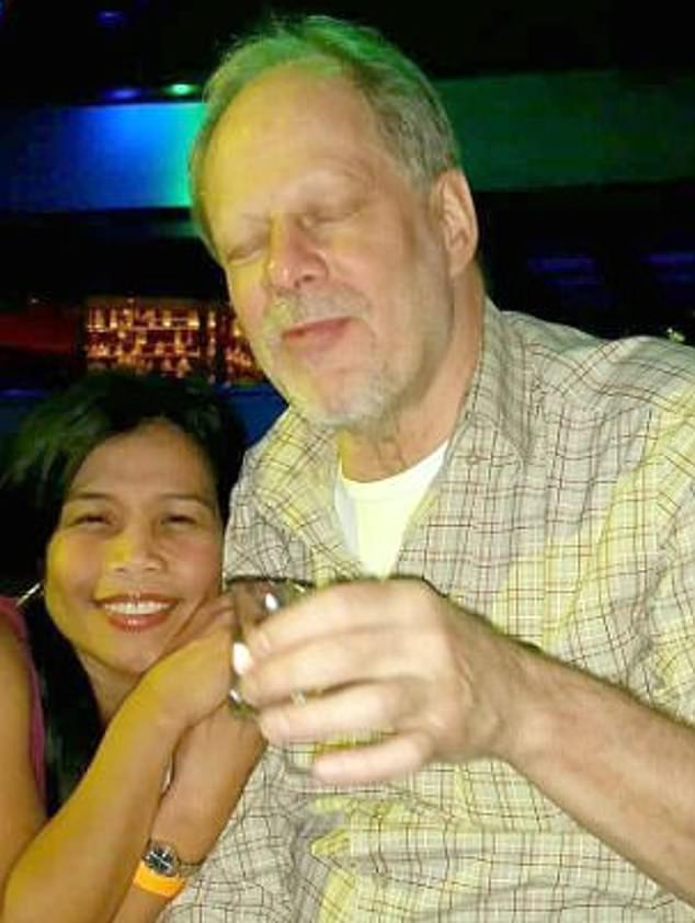 The 64-year-old was in her native home of Manila in the Philippines when Paddock opened fire on a crowd at a country music festival on October 1, 2017 killing 58 people. After flying back to the US two days after the mass killing – the deadliest in US history - Danley was arrested by the FBI at LAX airport before being released without charge and then vanishing
