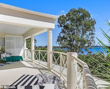 And while Kerrie and Paul still work in the city of Brisbane - which is a 35 minute drive away - they say there is little they miss about city life when they compare it with that of Havana (balcony pictured)