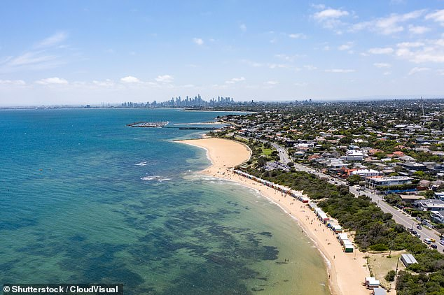 Just Gorgeous: Channel Nine has now confirmed the new Block construction will be located along the face of the Port Phillip Bay in Brighton in Melbourne