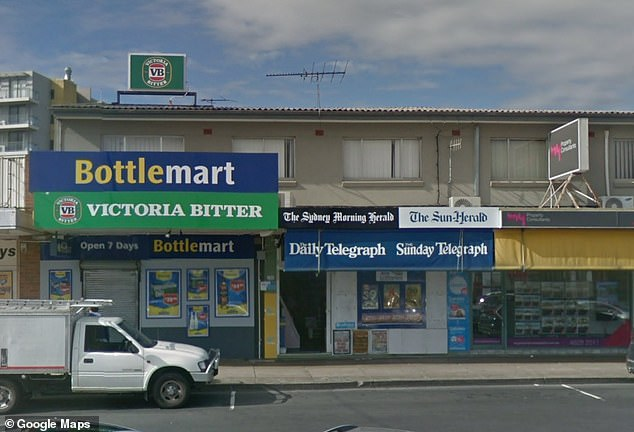 While the search for the lucky ticket holder continues the vendor where it was purchased has been revealed as Leumeah Newsagency in Sydney's south-west (pictured)