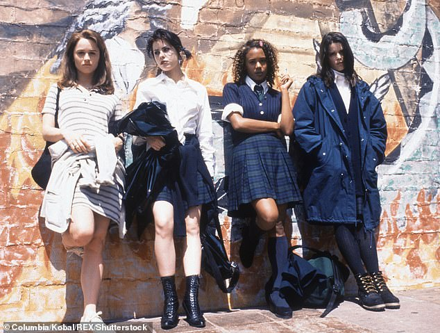 Cult classic: The Craft is said to be a re-imagining of the 1996 original that starred Robin Tunney, Fairuza Balk, Rachel True, Neve Campbell