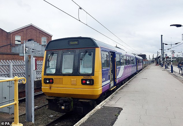 The Department for Transport later issued a statement explaining that it is 'developing contingency plans' for replacing the franchise with a new short-term management contract with Northern or the Operator of Last Resort (OLR) (stock image)