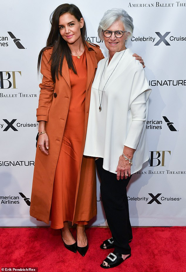 Family time:Katie Holmes' date to the fall gala of the American Ballet Theatre in New York this Wednesday was none other than her own mother Kathleen