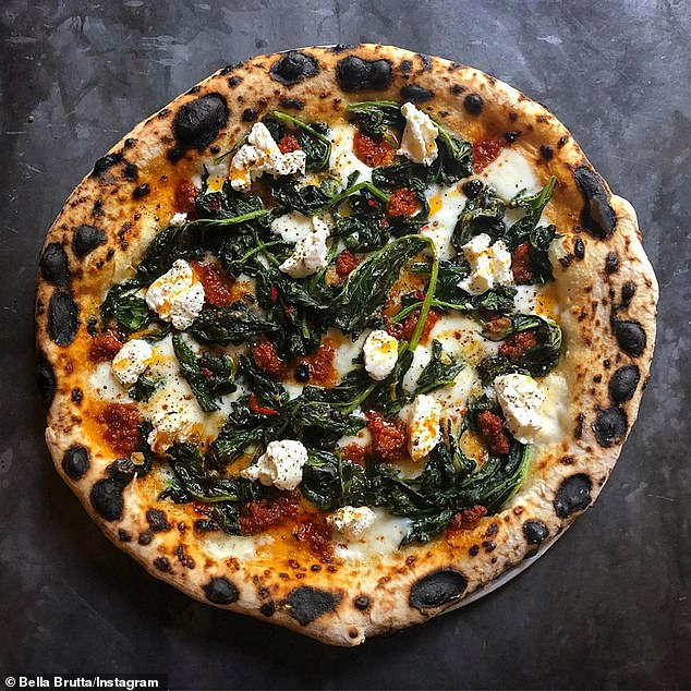 Bella Brutta pizzeria (pictured) has become a hot spot in Sydney for those looking for an authentic Italian slice with an Aussie twist