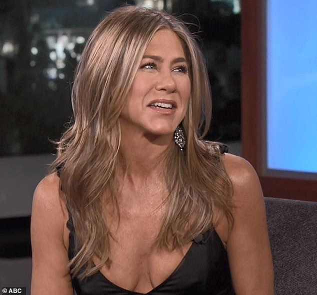 Social media:Jennifer Aniston has revealed she had a stalker account before officially joining Instagram as she appeared on Jimmy Kimmel Live on Wednesday