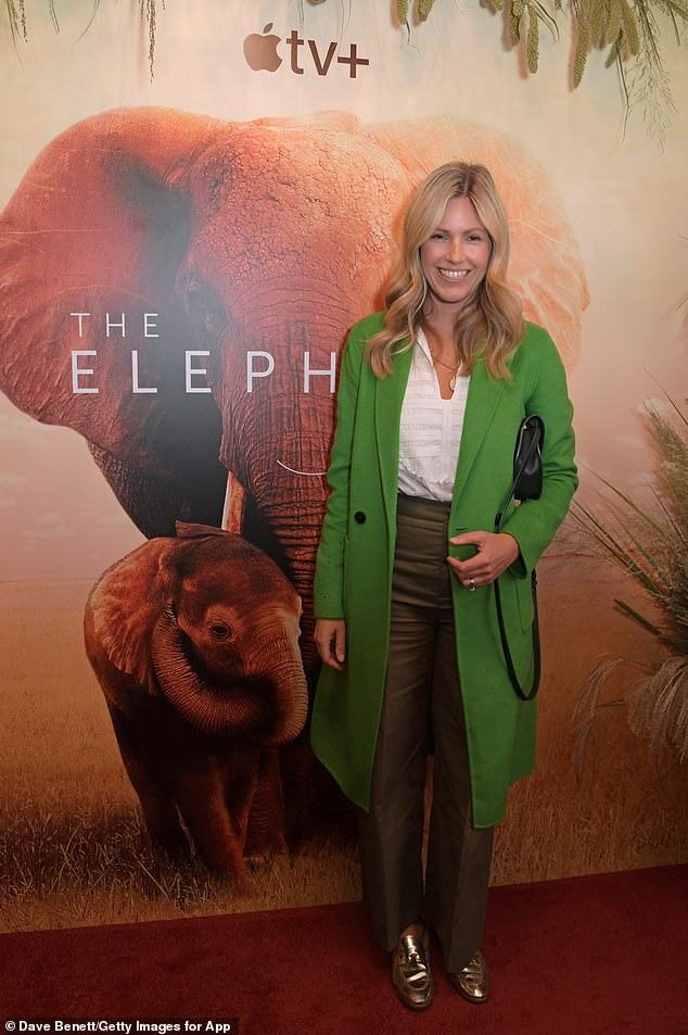 Marina Fogle was amoung the celebrities spotted at the film premiere at the Electric Cinema in London