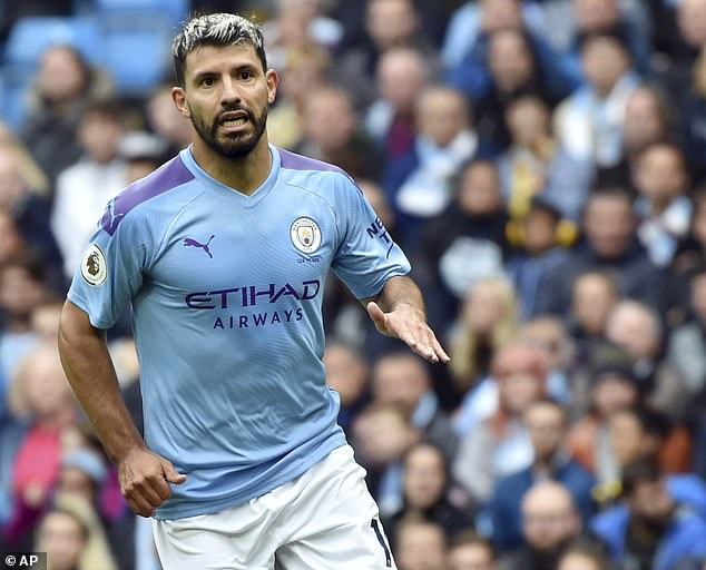Sergio Aguero scored in each of Manchester City's first six matches, including some big goals