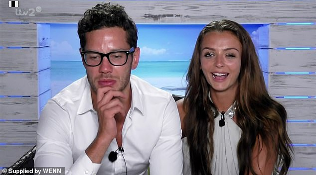 Rise to fame: Kady shot to fame on the 2016 series of Love Island, reaching the final with then boyfriend Scott Thomas