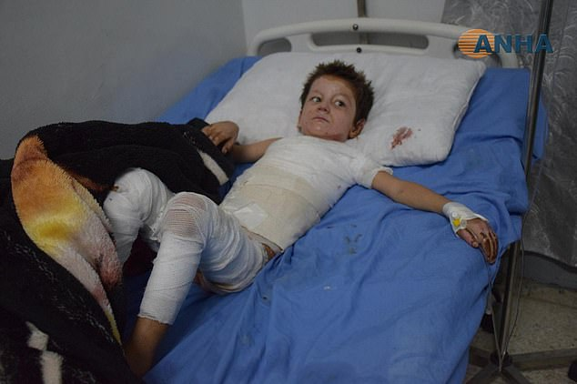 Meanwhile a doctor in al-Hasakah, another city near Ras-al Ayn, said he had treated several patients with injuries he believes were caused by napalm or similar incendiary bombs