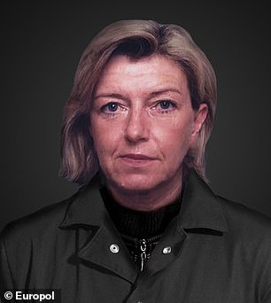 Pictured: Elisabeth Gertrude Skarits, 63, who is wanted by Austria for serious fraud