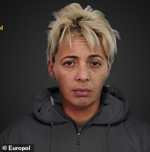 Pictured: Ildiko Enderle, 43, who is wanted by Romanian Police for organised crime