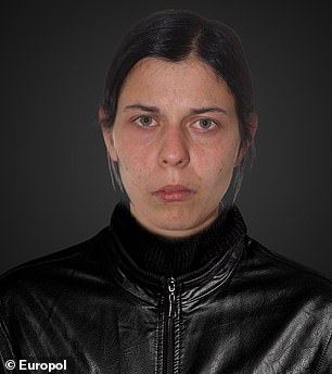 Pictured:lIdikó Dudás, 31, who is sought by Hungarian police for drug trafficking and abuse of a minor
