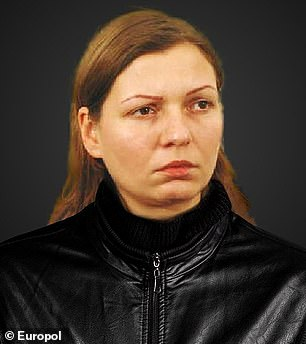 Pictured:Dorota Kaźmierska, 44, who is wanted by Poland for the murder of her husband