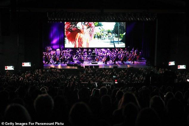 Sensational: The concert screening of the film will hopefully kick-start Rocketman's awards campaign