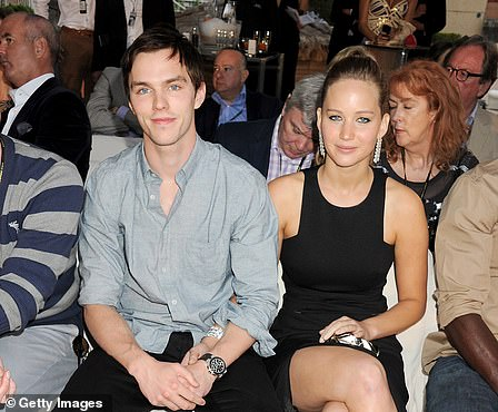 Jennifer's longest relationship was with her co-star Nicholas Hoult