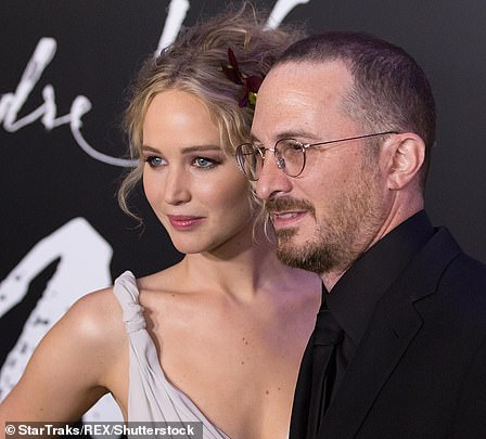 Former love: Jennifer Lawrence and Darren Aronofsky at the Mother! premiere