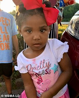 Amber Alert:Kamille 'Cupcake' McKinney was abducted in Alabama on Saturday