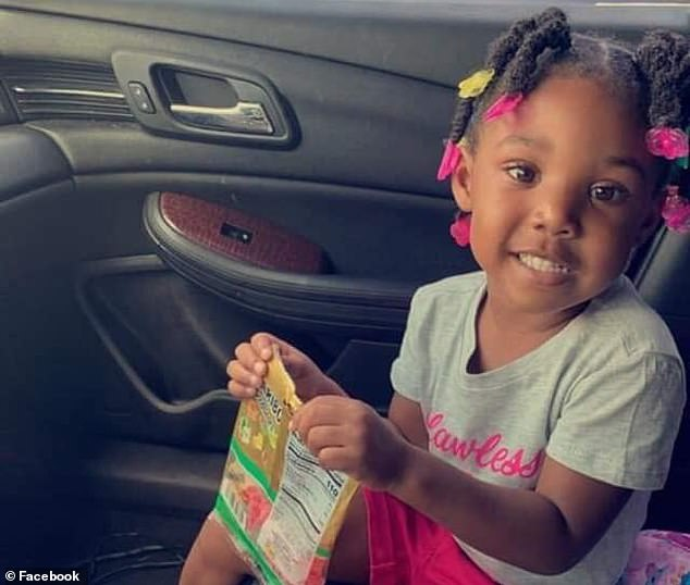 Kamille was snatched and pulled into a dark SUV from outside the housing project on Saturday