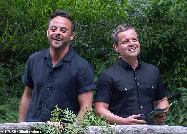 Heading to the jungle?:The Good Morning Britain presenter, 52, has booked time off work in order to take part in the series when it returns next month, reports The Sun (Hosts Ant and Dec pictured in 2017)
