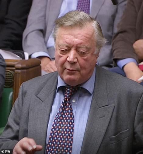 Former chancellor Ken Clarke