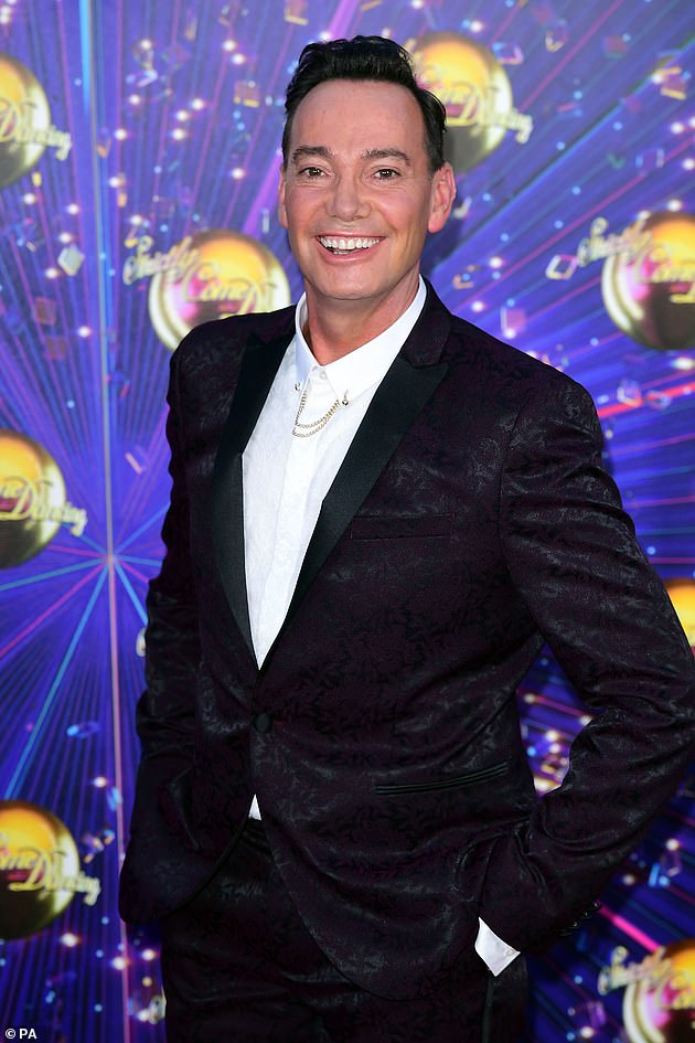 Strong support: Strictly judge Craig Revel Horwood has long supported the discussion around including same-sex couples on his hit BBC show
