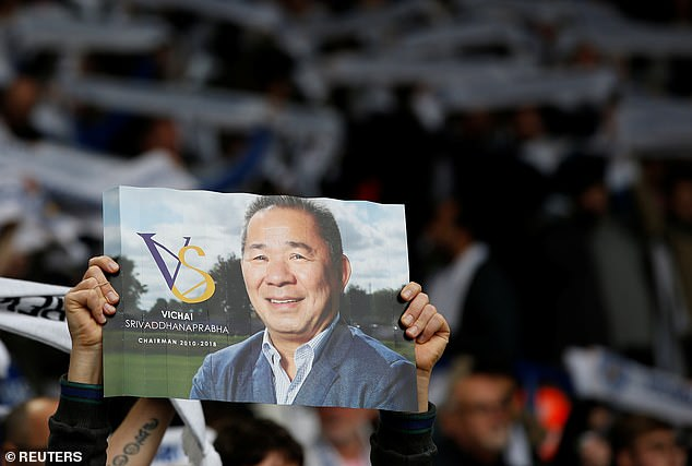 Vichai had guided Leicester to their remarkable title victory in 2016 under Claudio Ranieri