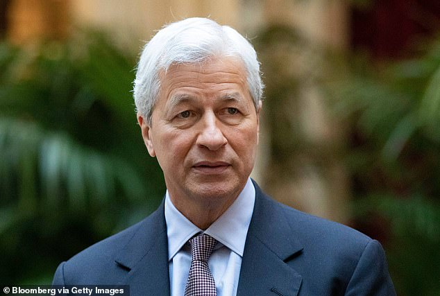 Lawyers for Lord Mandelson said he 'has no recollection of a telephone conversation with Mr Epstein in January 2009... in which he allegedly requested Mr Epstein set up a meeting with Jamie Dimon'. Mr Dimon is pictured above