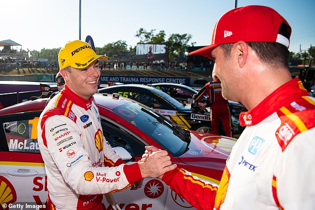 After a Saturday hearing, governing body Confederation of Australian Motor Sport (CAMS) announced they had fined McLaughlin's team $250,000 and deducted 300 championship points for an FIA International Sporting Code breach in The Great Race last weekend