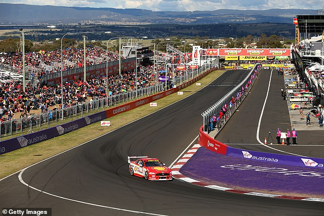 McLaughlin emerged unscathed but Ford teammate Fabian Coulthard was demoted from sixth in the Bathurst results to 21st after his safety car 'go slow,' effectively relegating him to last after five of the 26-strong field failed to finish