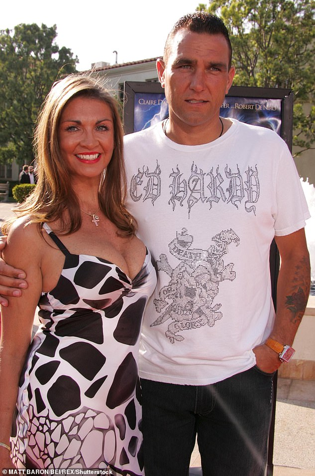 Tragic:The actor, 54, was due to appear on the ITV programme however he decided not to take part following the death of his wife Tanya in July earlier this year (pictured together in 2007)