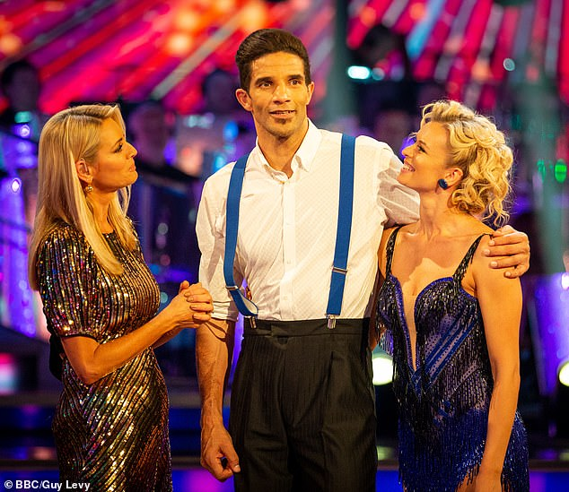 Out:David James has become the fourth celebrity to be sent packing on Strictly Come Dancing 2019