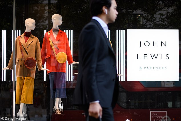 The move by John Lewis is part of a wider backlash against plastic waste and pollution that will change packaging around Christmas-themed merchandise and other products (file image)
