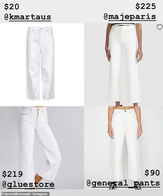 Maje Paris sell a similar high-waisted variety for $225, while Glue Store's version is $219 and General Pants is $90