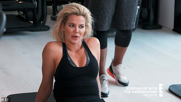 Trip anxiety: The stories about Kourtney's past girls' trips were causing Khloe anxiety