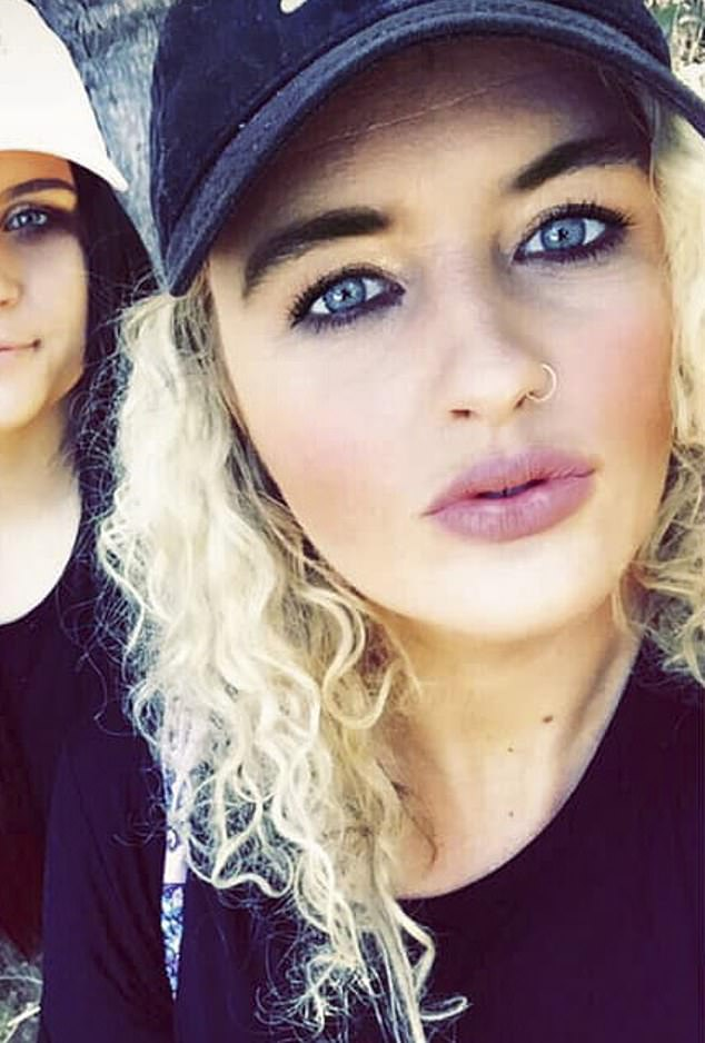 Ms Madden said her ordeal began on September 23 when she visited the salon in Mount Druitt to get a full set of acrylic nails installed