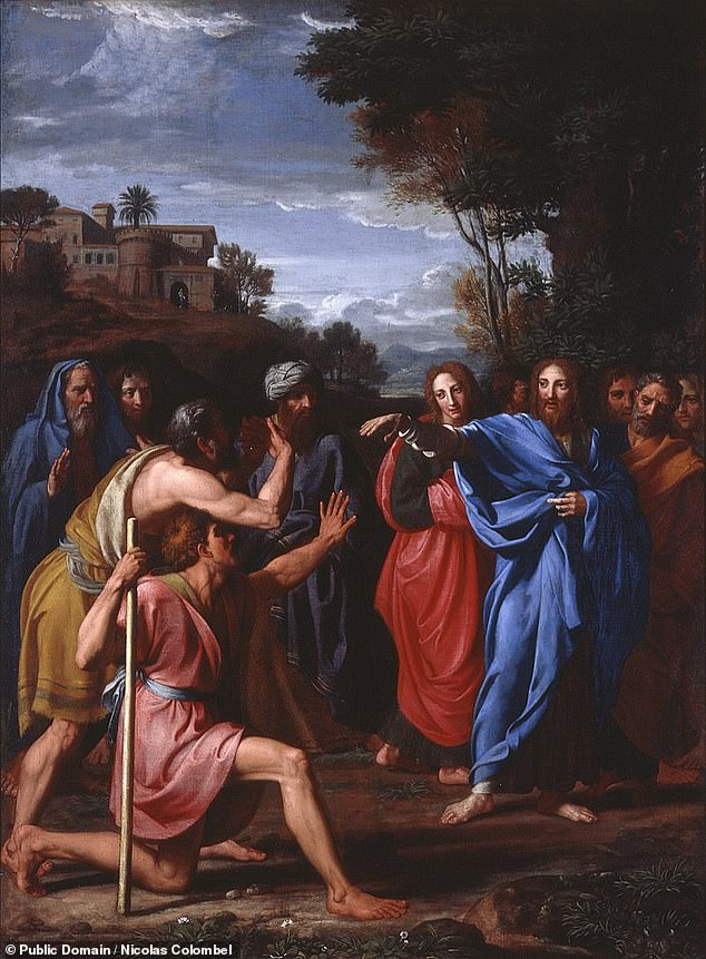 According to the bible, the Pool of Siloam was the location where Jesus performed the miracle of healing the man born blind, at around the same as the street was being constructed
