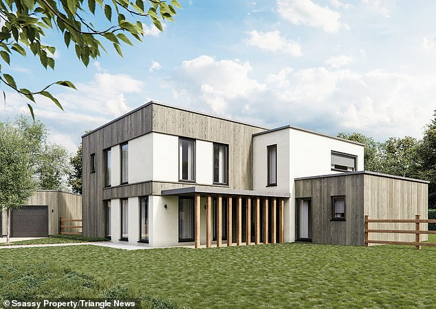 'We think this is the first development of zero-carbon, net zero-energy houses in the country,' said Ian Pritchess, director of Ssassy Property and Greencore Construction