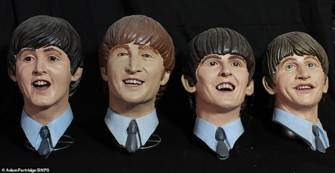 The hall was later turned into a cross between Madame Tussauds and Planet Hollywood by current owner Brian Corrigan. Busts of Paul McCartney, John Lennon, George Harrison and Ringo Starr sold for£130
