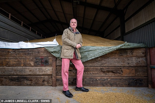 After selling his company Pipex, the UK's first commercial internet service provider, back in 1995, one of his first decisions was to buy a farm in central Norfolk in 1996 picking an area of high land to lessen the risk of flooding