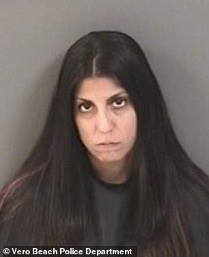 The mother-of-one was arrested and charged last week and is being held on a $325,000 bond