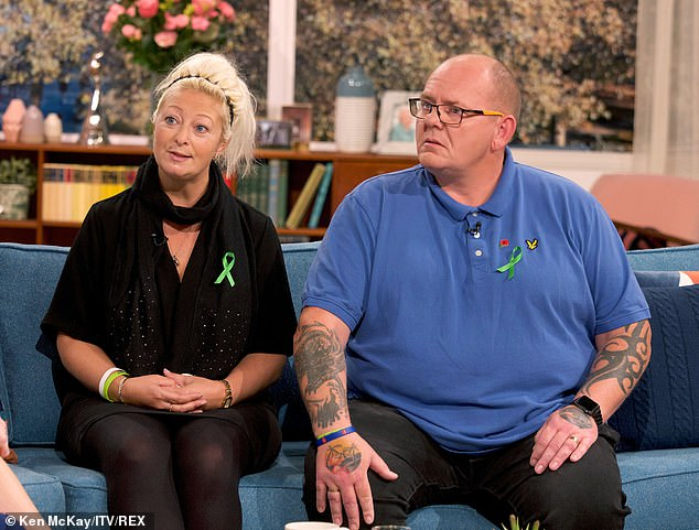 The pair then cast doubt on the efforts of the Foreign Secretary, telling viewers they were 'sceptical' after Dominic Raab admitted to them he delayed informing them that Mrs Sacoolas had left the country