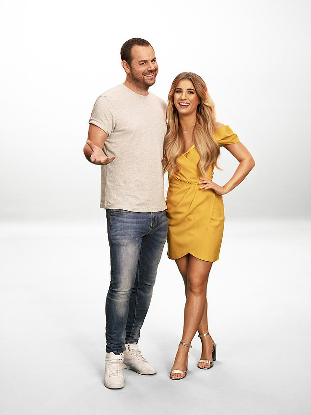 Joining forces:Dani and Danny are working together on MTV show True Love or True Lies