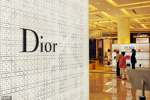 Dior extended its 'deep apology' to Beijing after one of its employees displayed a map of China that excluded self-ruled Taiwan during a presentation in a university. Dior explained that the employee's comment was 'erroneous' and represented her own opinion, not that of the firm