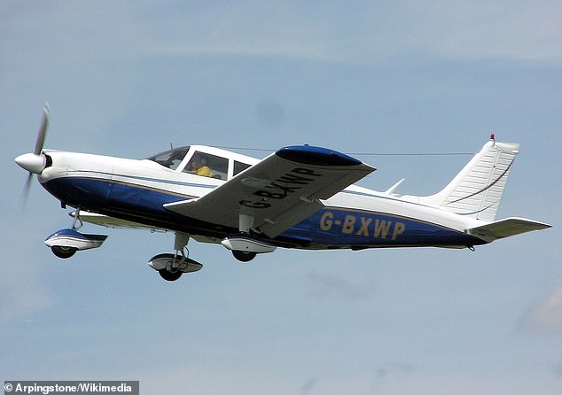 The Piper PA32 was attempting to land at Raleigh-Durham International when it vanished off radar (file image)