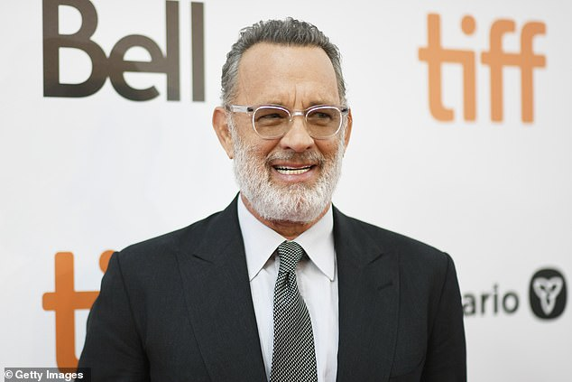 Mentor: Noah's acting break actually came in 2014 when he was cast alongside Tom Hanks in Steven Spielberg's Cold War drama Bridge of Spies, explaining: 'He's kind of been my mentor'