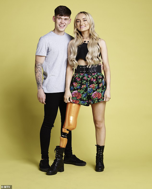 A lot to go through: Contestants Declan and Bernadette are from Belfast. The couple say they have gone from 'strength to strength' after Bernadette was diagnosed with cancer last year