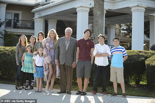 Jackie and her family, including Victoria, were featured on Celebrity Wife Swap (pictured) in 2015, just months before her daughter's death