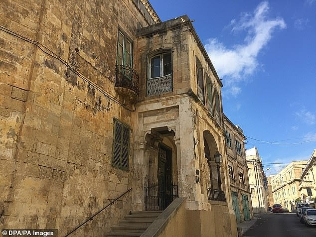 The Queen's former home in Malta - the only place she has lived outside of Britain -has been bought by the Maltese government