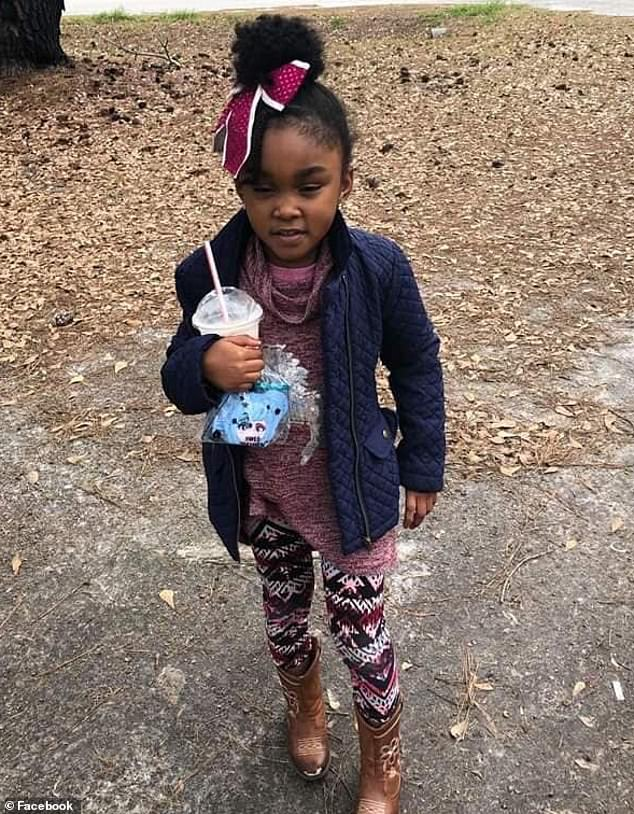 Police say Johnson confessed to killing Nevaeh alongside her mother. A search for the five-year-old's body is underway